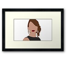 Jennifer Lawrence Framed Print