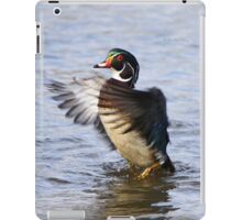 The little wood duck that could iPad Case/Skin