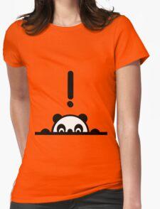 I C U Panda Womens Fitted T-Shirt