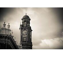Launceston Town Clock Photographic Print