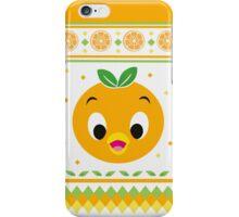 Orange Bird Ugly Sweater iPhone Case/Skin
