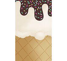 Ice Cream sprinkles Photographic Print