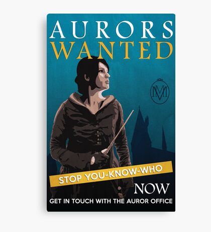 Aurors Wanted Canvas Print