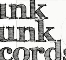 Trunk'O'Funk Records Sticker