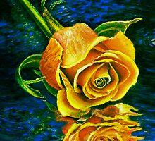 Waning Rose I Phone by Robert Zunikoff