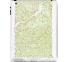 USGS Topo Map Washington State WA Aladdin 239773 1966 24000 iPad Case/Skin