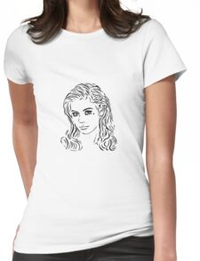 Primadonna (Black) Womens Fitted T-Shirt