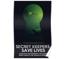 Secret Keepers Save Lives Poster