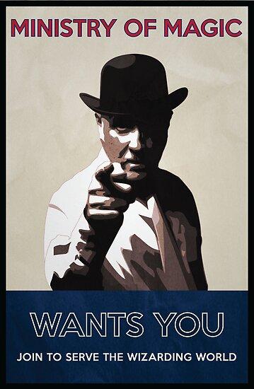 Ministry of Magic Wants You by flyingpantaloon
