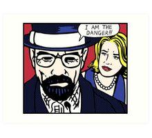 I Am the Danger Lichtenstein Art Print
