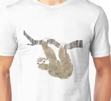 Sloth on a branch! Unisex T-Shirt