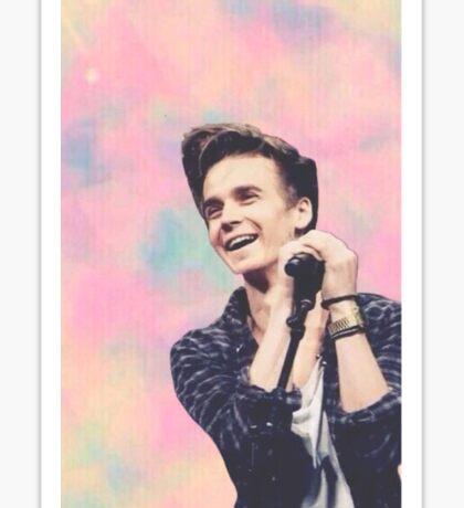 Joe Sugg on stage Sticker