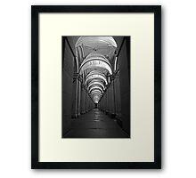 GPO Walkthrough Framed Print