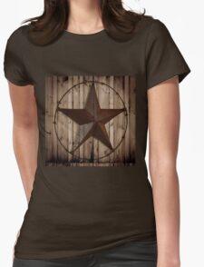 vintage western country barn wood grunge texas star  T-Shirt