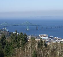 Bridge at Astoria Oregon by pixrit