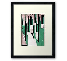 Concrete Abstraction 5 Framed Print