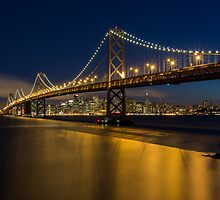 The Bay Bridge Skyline by Toby Harriman