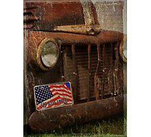 american truck  Photographic Print