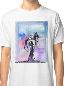 Strong - Pregnant Mare - Horse Art by Valentina Miletic Classic T-Shirt