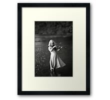 River Music Framed Print