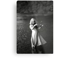 River Music Metal Print