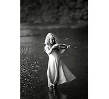 River Music Photographic Print