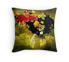 At The Parting of the Clouds Throw Pillow