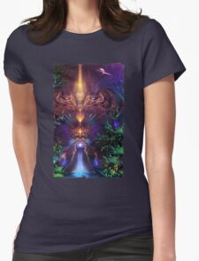 Ancient Infinite Womens Fitted T-Shirt