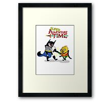 super adventure time Framed Print