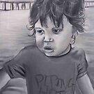 portrait of a boy by Ongie