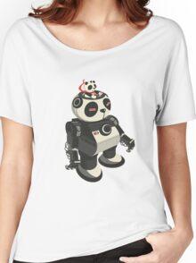 Mecha Panda Women's Relaxed Fit T-Shirt
