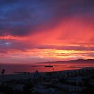 Exciting Sunset 7-18-12 in Los Angeles by Gloria Abbey