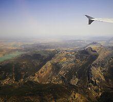 Flying Over Spanish Land I by JennyRainbow