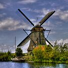Going Dutch - Les moulins de Kinderdijk  (Enlarge) by John44