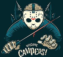 Welcome Campers! by James Mason