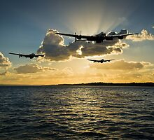 Flight Artworks aviation scenes: Dambusters by Gary Eason + Flight Artworks
