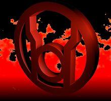 Red Lantern Inferno by Dualdragoon