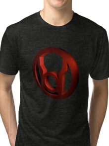 Red Lantern Inferno Tri-blend T-Shirt