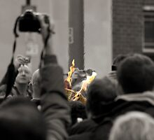 Olympic Torch Relay by DARREL NEAVES