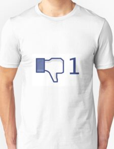 facebook, dislike T-Shirt
