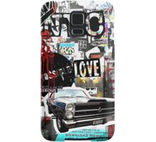 Ny street collage 01 Samsung Galaxy Case/Skin