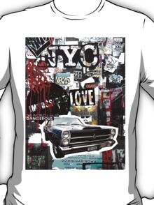 Ny street collage 01 T-Shirt