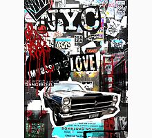 Ny street collage 01 Unisex T-Shirt