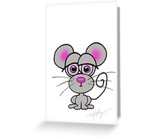 Maury Mouse Greeting Card