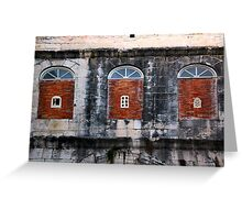 The Essence of Croatia - Three Windows of Diocletian's Palace Greeting Card