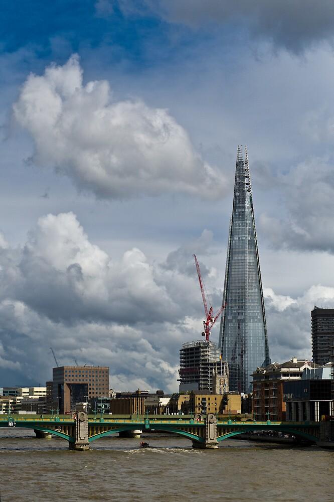 London Shard portrait by Gary Eason