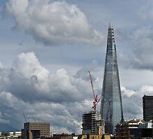 London Shard portrait by Gary Eason + Flight Artworks