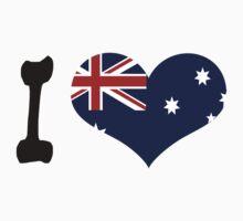 I love Australia Baby Tee
