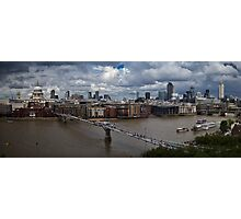St Paul's and the City of London panorama Photographic Print