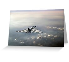 Vulcan over the Channel Greeting Card